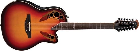 Электроакустическая гитара Ovation 2758AX-NEB