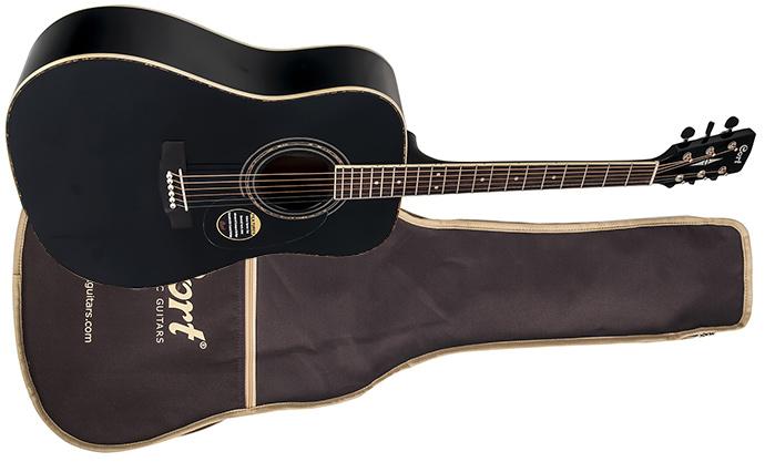 Гитара с чехлом Cort AD 880 W_BAG