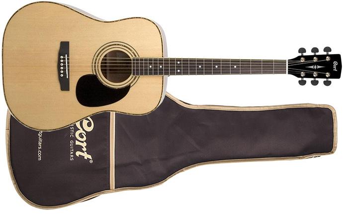 Гитара с чехлом Cort AD 880 W_BAG NS