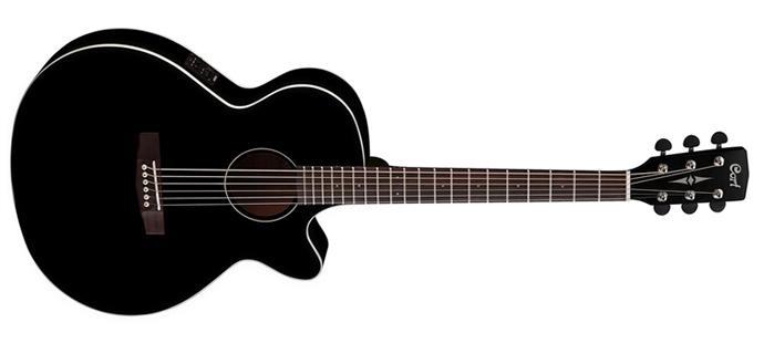 Электроакустическая гитара CORT SFX 1F BLK