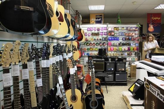 Музыкальный магазин на Юго-Западной, в Солнцево, Внуково, Теплый стан