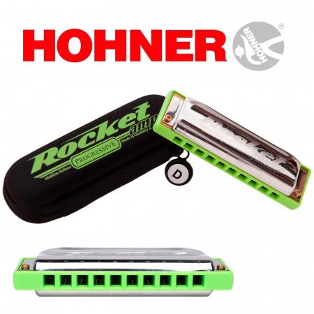 Губная гармоника Hohner Rocket Amp D