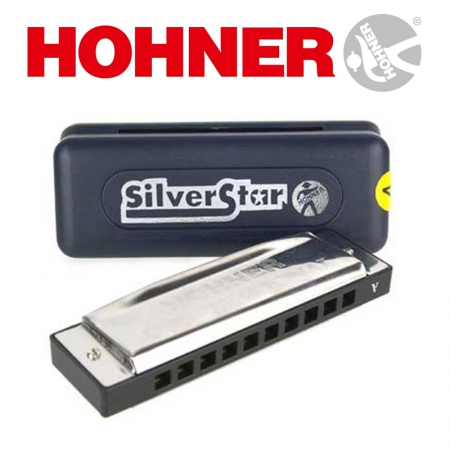 Губная гармошка Hohner Silver Star C-major