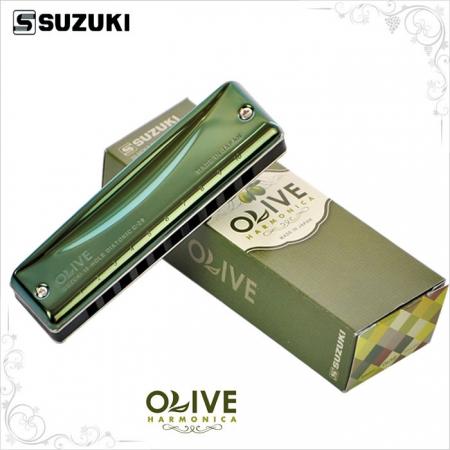Губная гармошка тональности ми Suzuki Olive C-20E