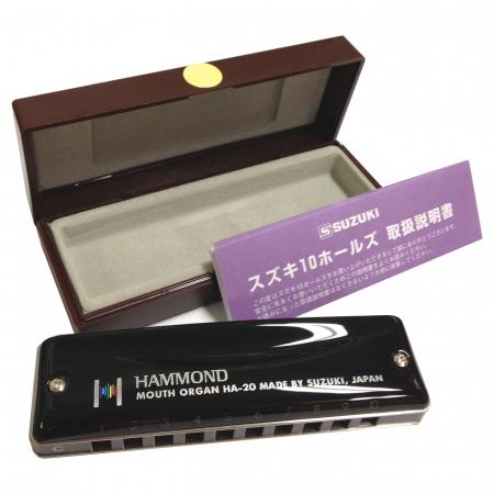 Профессиональная гармоника Suzuki HA-20