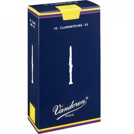 Трости для кларнета Eb Vandoren CR-1115 (№ 1,5) 10 шт