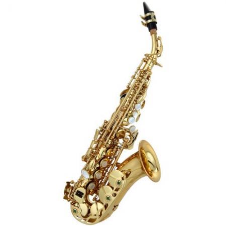 Саксофон-сопрано LC SC-601CLEG