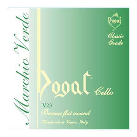 Струна A для виолончели Dogal Marchio Verde V231