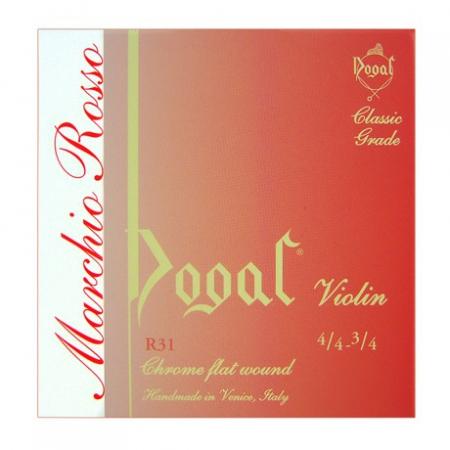 Струна A для скрипки 1/16-1/8 Dogal Marchio Rosso