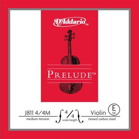 Третья струна (ре) D\'Addario Prelude