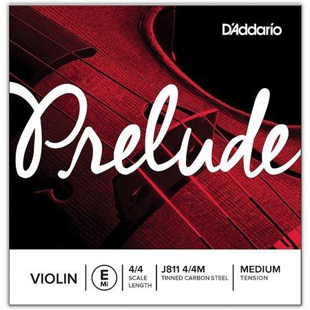 Первая струна E для скрипки D`Addario Prelude