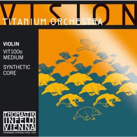 Струны для скрипки Thomastick VIT100о