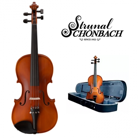 Скрипка модели Страдивари Srunal 160w 4/4 + кейс и смычок