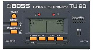Тюнер + метроном Boss TU-80