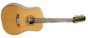 Двенадцатиструнная гитара Strunal 980