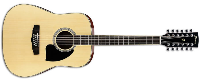 Двенадцатиструнная гитара Ibanez PF1512 NT
