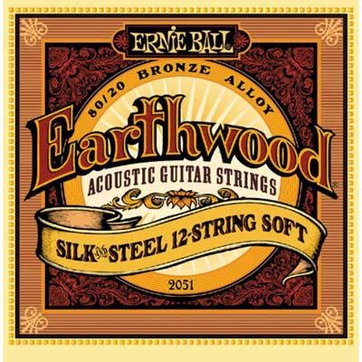 Струны Ernie Ball Earthwood Silk&Steel