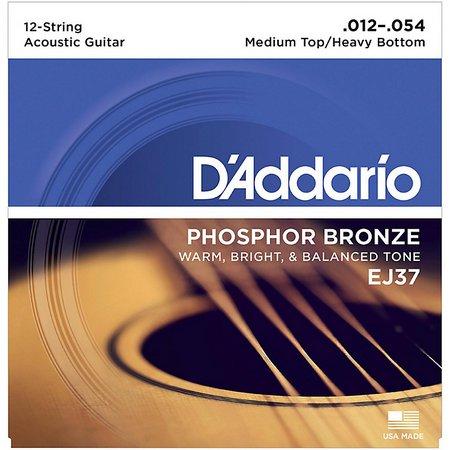 Струны D'ADDARIO Phosphor Bronze (EJ)