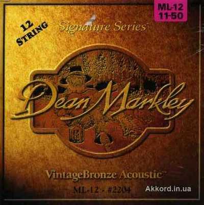 Струны Dean Markley Vintage Bronze (12)