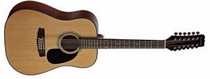 Двенадцатиструнная гитара Martinez W-1212 N