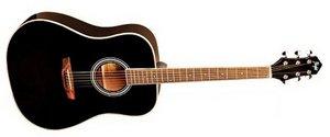 Шестиструнная гитара Flight AD-200 BK