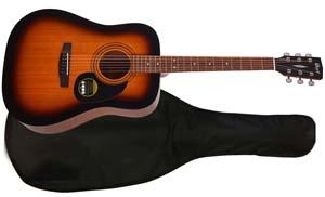 Акустическая гитара Cort AD-810 SSB с чехлом.