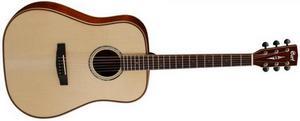 Акустическая гитара Cort AS-E4 с кейсом
