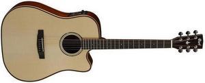 Электроакустическая гитара Cort AS-M5 с кейсом