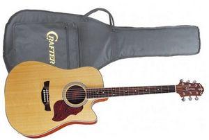 Гитара с пьезодатчиком Crafter DE-6