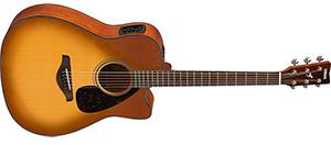 Электроакустическая гитара Yamaha FSX800C SB