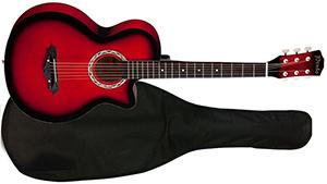 Акустическая гитара 38 Prado HS-3810 RD с чехлом