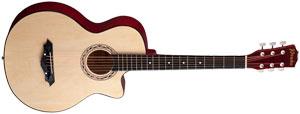 Акустическая гитара Prado HS-3810, натуральный цвет