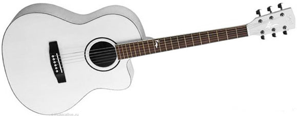Акустическая гитара Cort Jade 1 AW (белая)