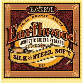 Струны Ernie Ball Silk and Steel