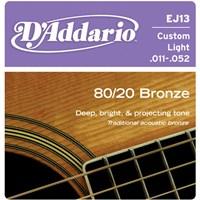 D'ADDARIO Bronze 80/20