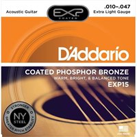 D'ADDARIO EXP COATED PHOSPHOR BRONZE