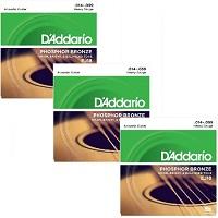 D'ADDARIO EJ18 (Pack x 3)