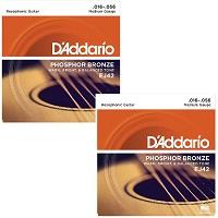 D'ADDARIO EJ42 Resophonic (Pack x 2)
