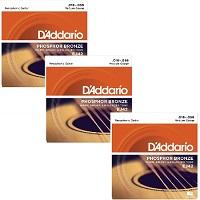 D'ADDARIO EJ42 Resophonic (Pack x 3)