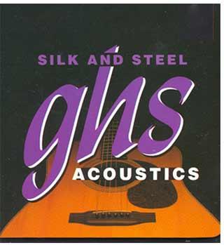 Струны ghs Silk And Steel
