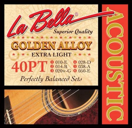 Струны La Bella Golden Alloy