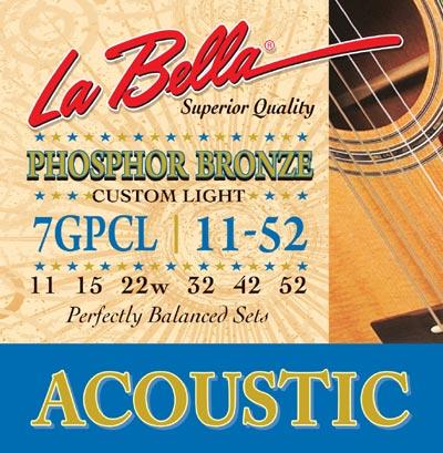 Струны La Bella 7GP