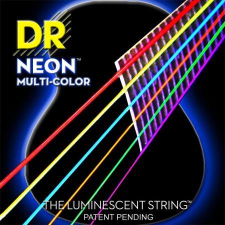 Струны DR Multi-Color Acoustic