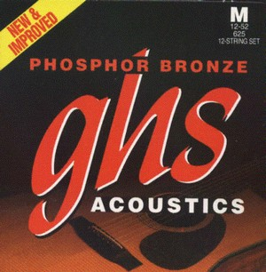 Струны ghs Phosphor bronze
