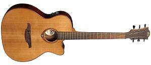 Электроакустическая гитара Lag T100ACE