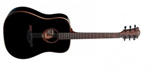 Акустическая гитара Lag T100D-BLK