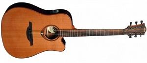 Электроакустическая гитара Lag T100DCE