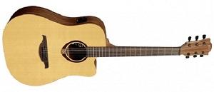 Электроакустическая гитара Lag T70DCE