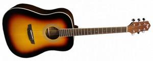 Шестиструнная гитара Flight D-200 3TS