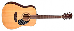 Гитара с широким грифом Flight W 12701-2 NA
